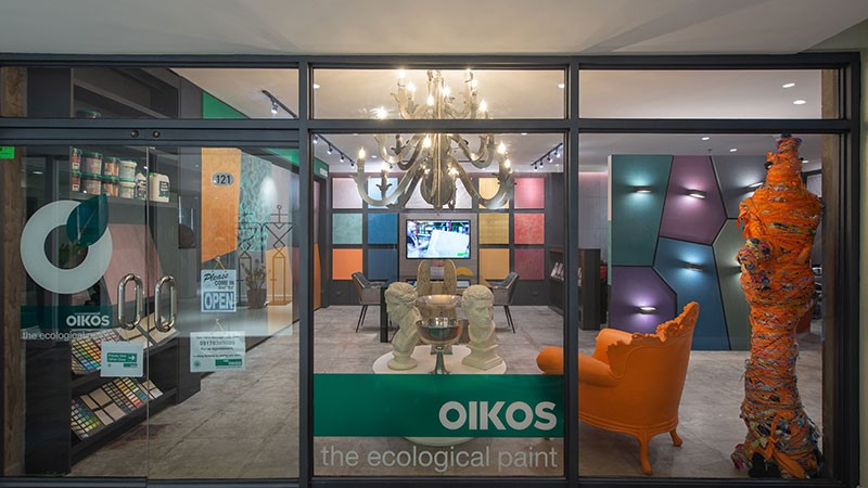 New Only Oikos showroom in Makati City, Philippines
