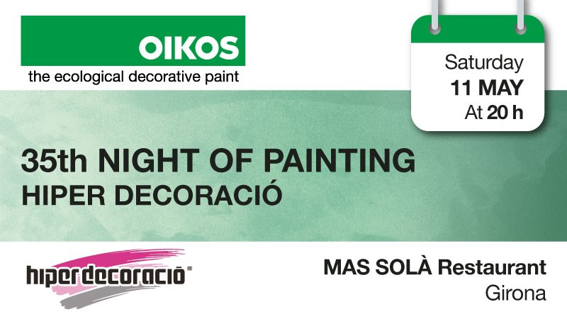Girona, with Oikos even the night becomes colorful