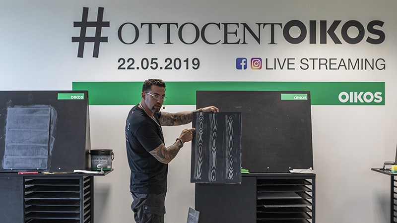 Oikos, Gian Carlo Sagasti and master decorators on live streaming: #OttocentOikos is a global success